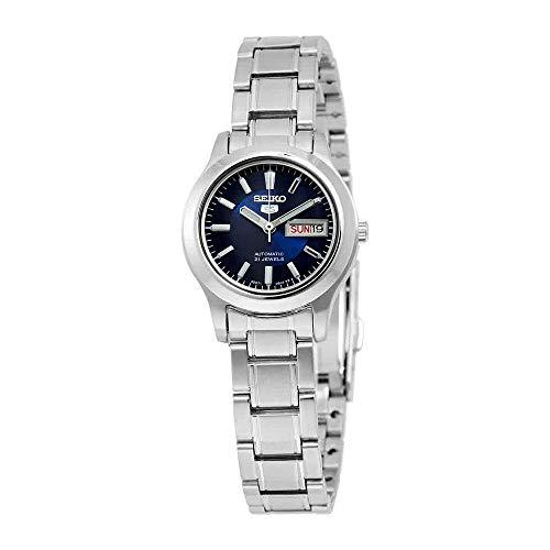 Seiko Women's SYMD93K1 Seiko 5 Automatic Blue Dial Stainless Steel Watch (Seiko Sportura Kinetic Gmt)