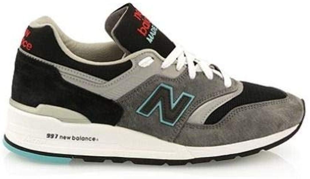 Luxury Fashion | New Balance Hombre M997CGB Gris Zapatillas | Temporada Outlet: Amazon.es: Zapatos y complementos
