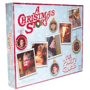 NECA Christmas Story The Party Game Board - Christmas Monopoly Story