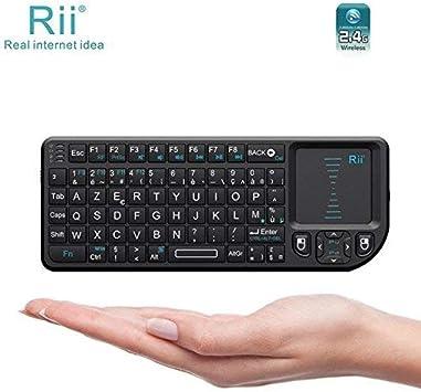Riitek Rii Mini Wireless Keyboard X1 – Teclado compacto ...