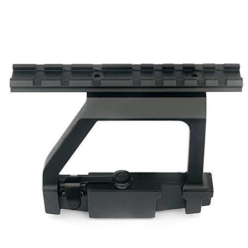 Uniquefire AK-74U Scope mount Tactical Metal Top Rail Mount Scope Mount QD for 20mm Picatinny Rail Scope Sight