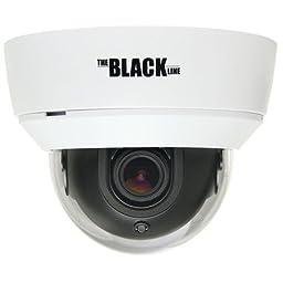 BLACK Indoor 700 TVL Varifocal Day/Night Dome Camera