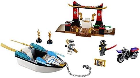 LEGO Juniors - Persecución en la lancha Ninja de Zane (10755)