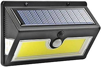 lamparas led para exteriores aplique solar aliexpress aplique solar sensor de movimiento lamparas solares para jardin luces para patio luces led para casas exterior lampara solar exterior: Amazon.es: Iluminación