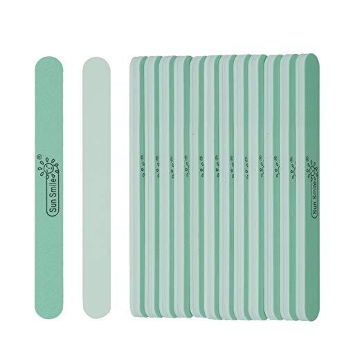 14pcs Fine Nail Buffer Files Smooth and Shine Natural Finger Nails Cushion Manicure at Salon or DIY Nail by EVEBYRA
