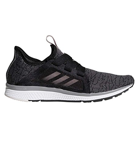 adidas Performance Women's Edge Lux W Running Shoe, Black/Vapour Grey Metallic/Orchid Tint, 8 M US by adidas
