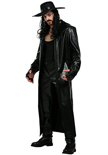 Plus Size WWE Undertaker Costume 3X Black -