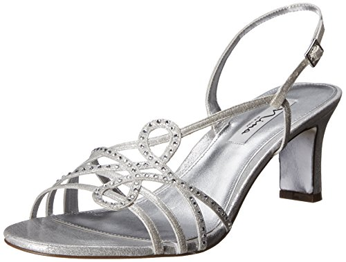 cheap sale best store to get Nina Women's Garland FY Dress Sandal Silver sale new arrival clearance pre order buy cheap footaction top quality cheap online TT9b6Ik
