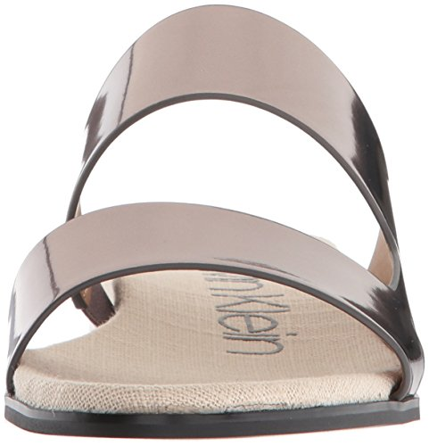 Calvin Klein Womens Sandalo In Sandalo Posato