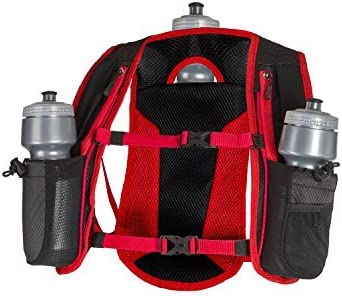 SLS3 Hydration Pack Small Hydration Vest for Running 3 Water Bottles 72oz Ultra Trail Water Backpack Designed by Athletes for Athletes