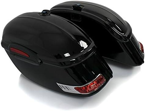 Sacoches rigides DW 33l avec kit de Fixation pour Yamaha XV 1900 Midnight Star
