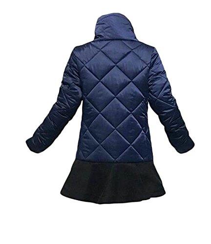 Ruffle Down Women Hem Outerwear Turtleneck 1 today Winter UK Coat Jack w0IwHT1q