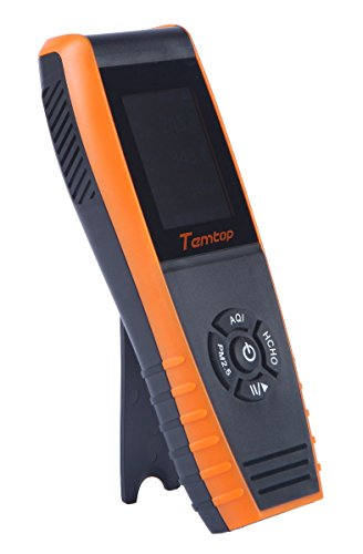 Temtop Air Quality Detector Professional Formaldehyde Monitor Temperature and Humidity Detector with PM2.5/PM10/HCHO/AQI/Particles Recording Curve LKC-1000S+ by Temtop (Image #7)