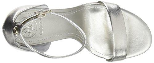 Guess Women's Footwear Dress Sandal Ankle Strap Heels Gold (Gold Plati) sPLM8U76