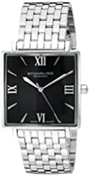 Stuhrling Original Men's 425.33111 Classic Ascot Saratoga Elite Quartz Ultra Slim Watch