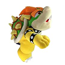 Super Mario 10 Standing King Bowser Koopa Plush Toy Nintendo Stuffed Animal by Fubu