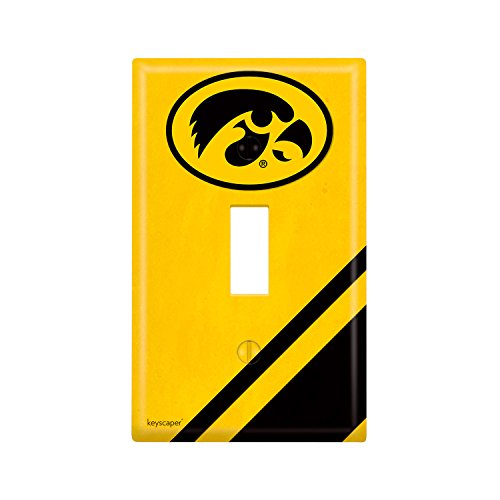Iowa Hawkeyes Lamp - Iowa Hawkeyes Single Toggle Light Switch Cover NCAA