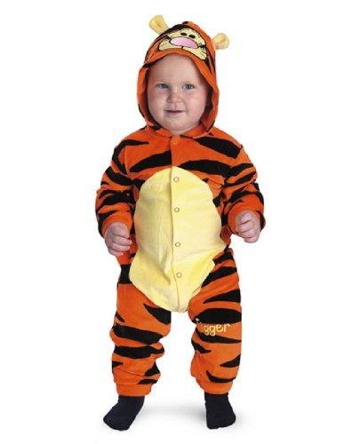 Monitor Winnie Baby Pooh The (Tigger Costume - Baby 12-18)