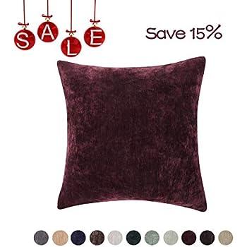 Amazon Com Mainstays Chenille Throw Pillow Set Of 2