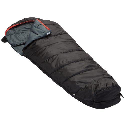 Skandika Erwachsene Schlafsack Alaska (RV Rechts), Schwarz, M, 16106_R
