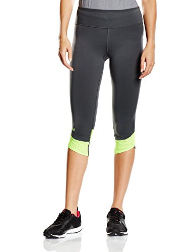 Under Armour Fly-By Women's Compression Capri Running Tights - AW15 - X Small - Black