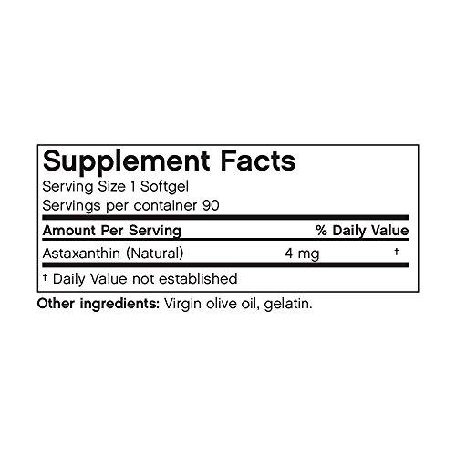 Futurebiotics Astaxanthin 4mg 90 Vegetarian Soft Gels Discount