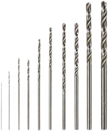 Shuai 10 pcs White Steel Drill bits Multifunction