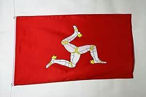 Az Flag Isle Of Man Flag 2 X 3 Manx English Flags 60 X 90 Cm Banner 2x3 Ft Garden Outdoor Amazon Com