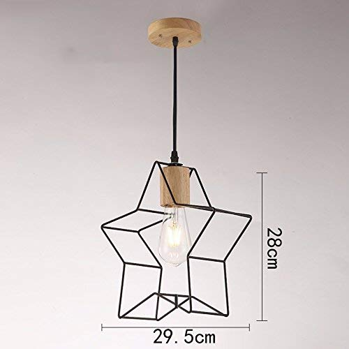 OVIIVO Creative Table Lamp Desk Lamp Retro Cafe Restaurant Chandelier, Creative Modern Minimalist Nordic Restaurant Lights, Living Room Bedroom Lamps Using for Reading, Working (Color : I)