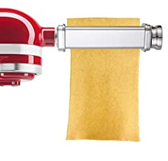 Gvode Pasta Roller Attachment turns your stand mixer into a professional Pasta Sheet Roller/Maker.Create authentic, fresh pastas quickly and easily at home. This useful pasta attachment to Kitchenaid mixer (kitchen machine), can easily...