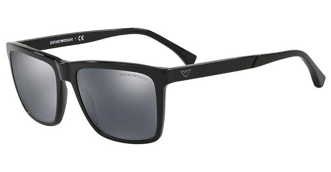 Emporio Armani 0EA4117, Gafas de Sol para Hombre, Black, 57: Amazon.es: Ropa y accesorios