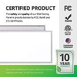Sunco Lighting 6 Pack LED Ceiling Panel, 2x4