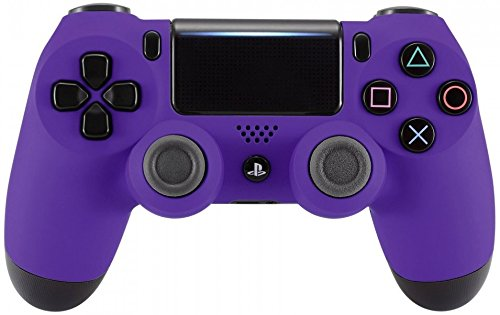 ps4 controller purple cover - 1