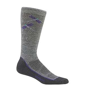 WIGWAM Women's Hiker Pro Socks, Color: Grey, Size: MD (F6253-072-MD)
