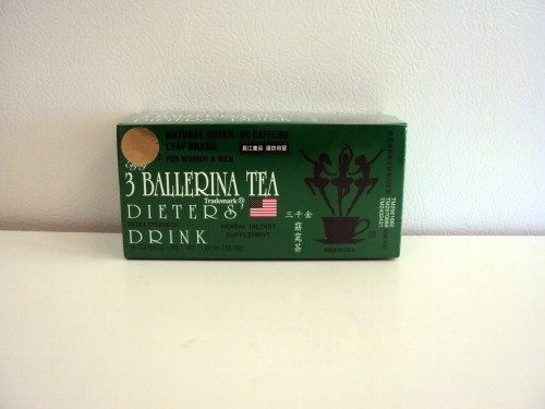3 Ballerina Tea Dieters' Drink Extra Strength 648 Tea Bags (In 36 Boxes) ( Value Bulk Multi-pack) by Truong Giang Corp
