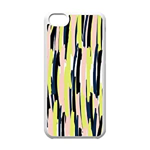 HEHEDE Phone Case Of Zebra Skin Fashion Style Colorful Painted for iPhone 5C