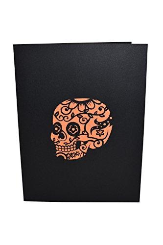 Paperkraft Coco Halloween Pop Up Card,Greeting Card,Halloween Present