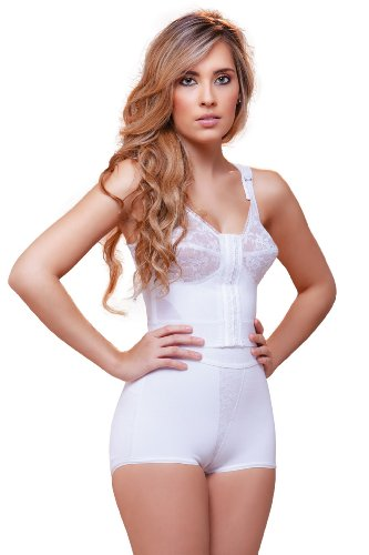 - Vedette Shapewear 937 TATIANA Highwaist Hip Hugger Panty Enhancer White Large