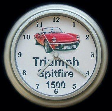 Triumph Spitfire 1500 Classic Car Wall Clock Amazoncouk Kitchen