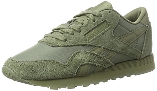 Zapatillas Hunter de Nylon Verde Deporte Mujer Green para Hunter Cl Reebok Green qTUwEE