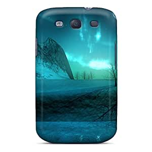 Snap-on Case Designed For Galaxy S3- Moon On The Holy Night