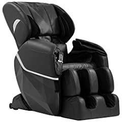 Feature The massage chair has zero-gravity function. There are total 35 air bags which are strategically located in the arms, hips, shoulder, thighs, calves, and feet, Multiple levels of intensity from strong to weak massage Space saving tech...