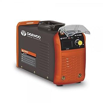 Daewoo 0005874 Soldadora Inverter, 390 mm x 225 mm x 265 mm, 20-160 A, 4200 W: Amazon.es: Industria, empresas y ciencia