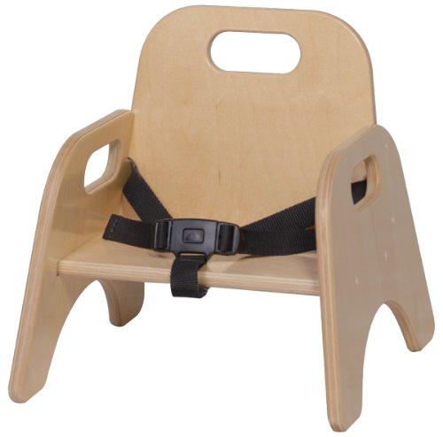 Steffy Wood Products 5-Inch Toddler Chair with Strap