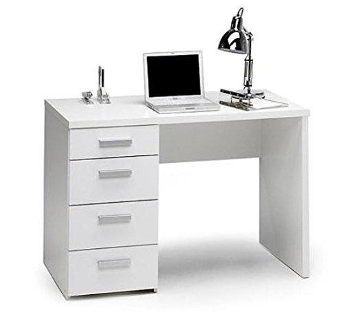 Parker Student Desk, White by White by White