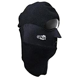Gator Clavagator Balaclava Head, Face and Neck Mask,Large,Black/Black