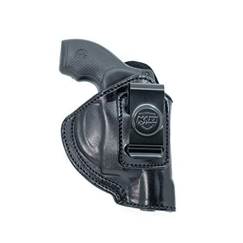Maxx Carry Inside The Waistband Leather Holster for Ruger LCR 38 Special 2