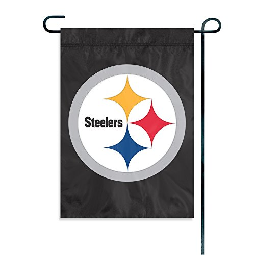 Party Animal Pittsburgh Steelers Garden Flag