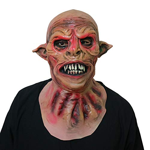 Halloween Horror Grimace Scary Mask Zombies, Horror Werewolf Mask Prom Party Carnival Props Decoration(Horror Werewolf)