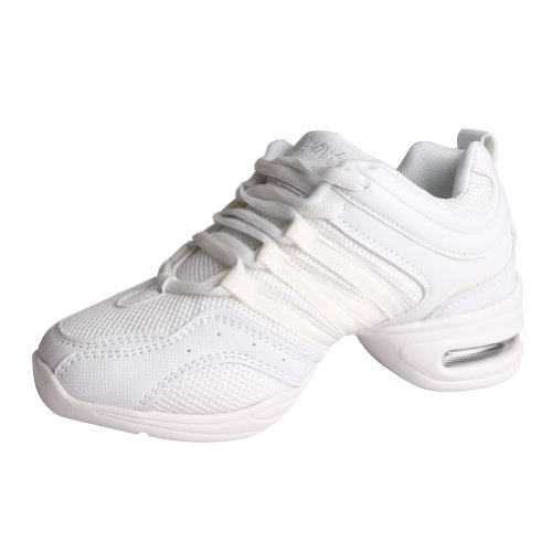Zapatos para Danza Zapatos Deportivos Baile de Hip Mujer Hop Fisher Blanco Free Jazz Tango de Tvx7ff